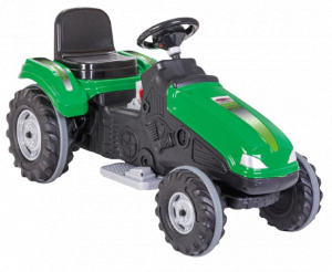 Jamara tractor Ride On Big Wheel 12 V 114 x 53 cm groen