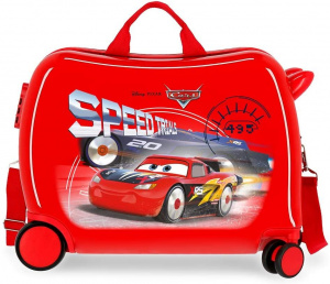 Jim Jam Bags concepts Cars ride-on koffer 34 liter rood