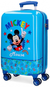 Jim Jam Bags concepts Mickey Mouse koffer 32 liter blauw