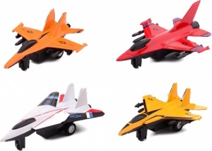 Johntoy straaljagers Action Fighters 4-pack