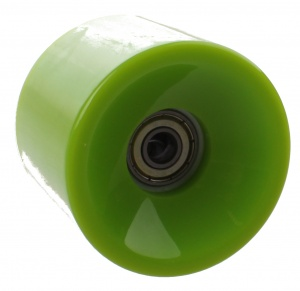 Johntoy Urban District Longboardwielen 65 x 51 mm 82A groen