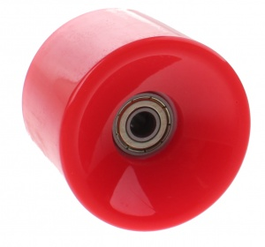 Johntoy Urban District Longboardwielen 65 x 51 mm 82A rood