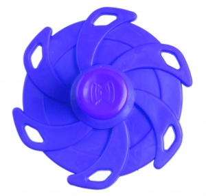 Kids Fun Magic Jumping Spinner 6 blauw