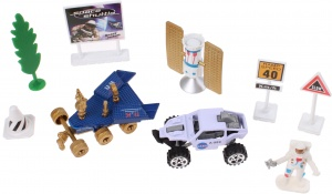 Jonotoys speelset Space Team 9-delig Die-Cast