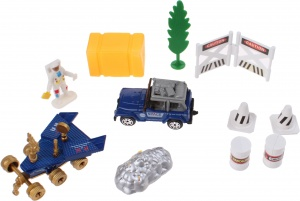 Jonotoys speelset Space Team Die-Cast 12-delig