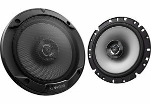 Kenwood speakerset tweeweg coaxiaal KFC-S1766 300 Watt zwart