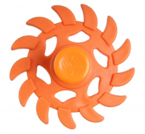 Kids Fun Magic Jumping Spinner 13 oranje