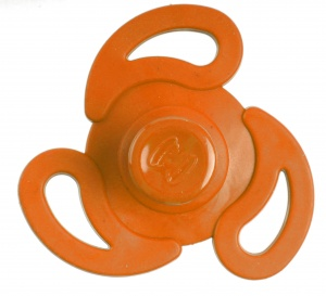 Kids Fun Magic Jumping Spinner 3 oranje