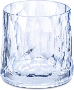 Koziol whiskyglas Club No. 2 250 ml polycarbonaat blauw