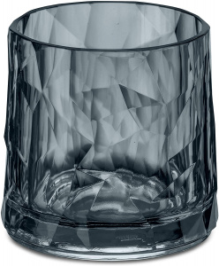 Koziol whiskyglas Club No. 2 250 ml polycarbonaat grijs