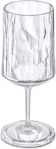Koziol wijnglas Club No. 4 300 ml polycarbonaat transparant