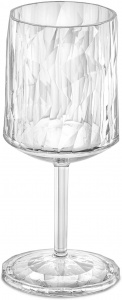 Koziol wijnglas Club No. 9 200 ml polycarbonaat transparant