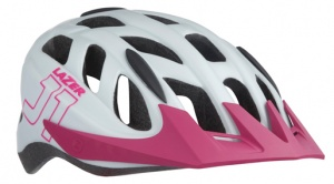 Lazer kinderhelm J1 junior insect 52-56 cm wit/roze