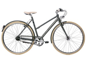 Leader Coolgirl 28 Inch Dames 8V V-Brake Antraciet