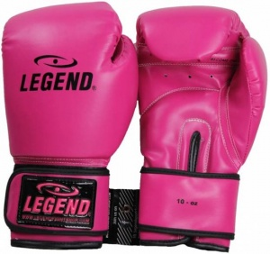 Legend Sports bokshandschoenen PowerFit dames roze