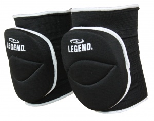 Legend Sports kniebeschermer Pro Legend zwart unisex