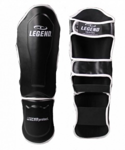 Legend Sports scheenbeschermers Legend Best zwart/wit