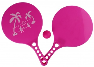LG-Imports beachball-set Beach Fun 3-delig roze
