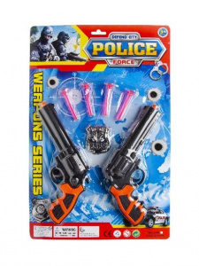 LG-Imports politieset Police Force Weapons Series 7-delig