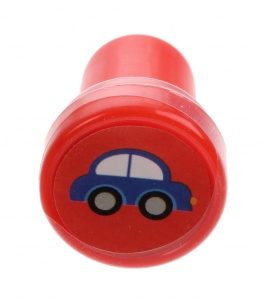 LG-Imports stempel auto rood