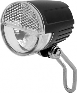 Lynx koplamp Sensor e-bike led 30 lux zwart