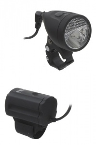 M-Wave koplamp Apollon 1.3 3 watt zwart