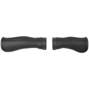 M-Wave fietsgrepen Cloud Base 2 Fix 133/98 mm zwart 2-delig