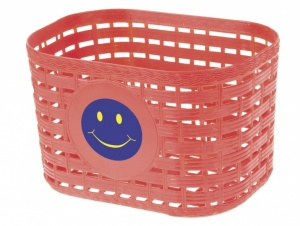 M-Wave fietsmand smiley junior 3,5 liter rood