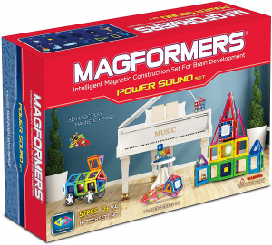 Magformers constructiespeelgoed Power Soundset 60-delig