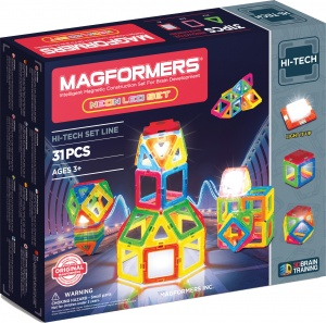 Magformers Neon Led set 31-delig