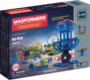 Magformers Power Gear set 60-delig