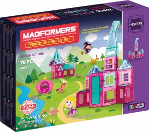 Magformers Princess Castle set 78-delig