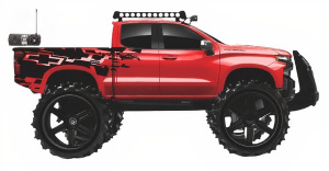 Maisto jeep RC Chevrolet Silverado off-road 1:16 rood 2-delig