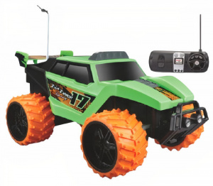 Maisto jeep RC Dirt Demon off-road 1:16 groen/oranje 2-delig