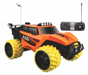 Maisto jeep RC Dirt Demon off-road 1:16 oranje/geel 2-delig