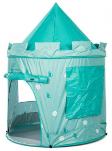 Mamamemo pop-up speeltent Aqua 140 cm polyester aqua 2-delig