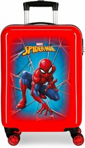 Marvel kinderkoffer Spiderman 70 liter ABS 68 cm rood/blauw