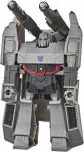 Marvel transformers Cyberverse Megatron junior 10,5 cm grijs