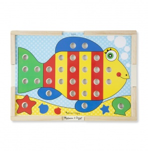 Melissa & Doug color match kleurenspel