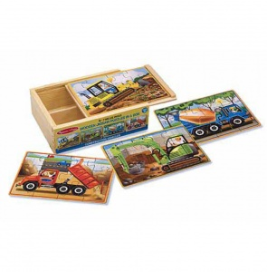 Melissa & Doug Construction puzzelset