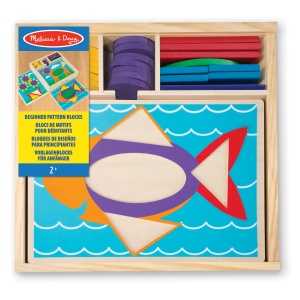 Melissa & Doug wooden shape game animals 27 x 27 x 6 cm