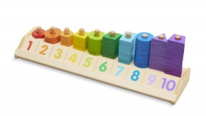 Melissa & Doug shape counter