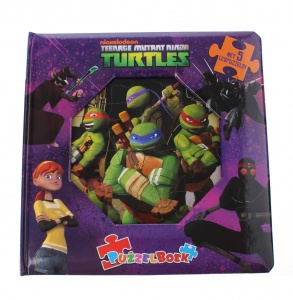 Memphis Belle puzzelboek Ninja Turtles