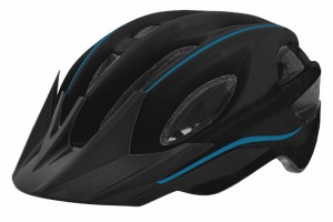 Mighty Helm Young Hawk Junior Zwart Blauw