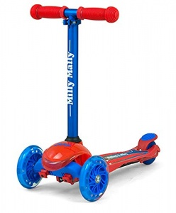 Milly Mally kinderstep Zapp Scooter Redcom junior rood/blauw