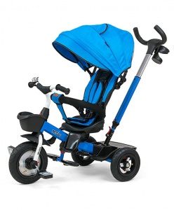 Milly Mally Movi driewieler Junior Blauw