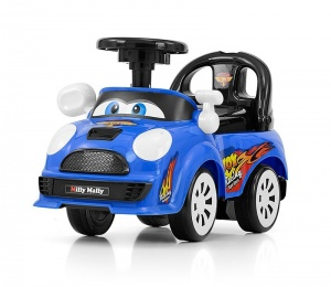 Milly Mally Ride On Joy loopwagen junior blauw