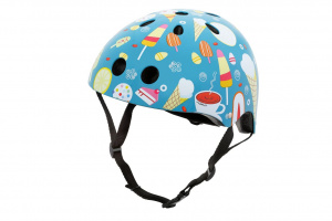 Mini Hornit Lids kinderhelm Head Candy junior blauw