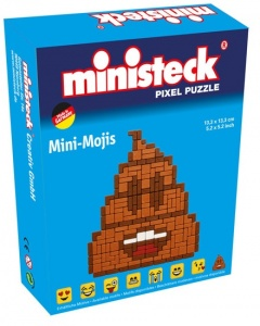 Ministeck mini-moji poop emoticon