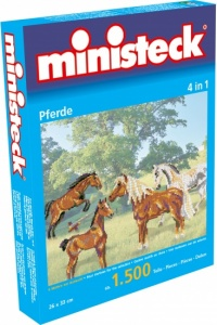 Ministeck paarden 4-in-1 1500 delig
